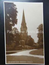 c1920's RP - Edinsor Church, Chatsworth - Judges Ltd