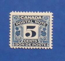 1932 5c CANADA POSTAL NOTE SCRIP REVENUE VD # FPS7 B # 3 UNUSED          CS15764
