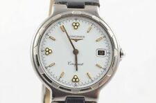Longines CONQUEST QUARZO OROLOGIO UOMO 4020 titanio vintage 34mm