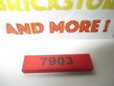 """Lego - 1x Plaque Plate Tile lisse 1x4 4x1 """"7903"""" pattern set 7903 2431pb095"""