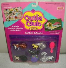 #10157 NRFC Vintage Galoob Cutie Club Colts Real Colts Horse Collection