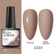 Meet Across Nail Art Gel Color Polish Soak-off Uv/Led Manicure Varnish Cz23 Diy