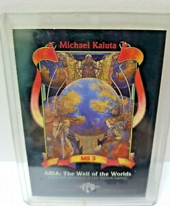 Michael Kaluta Fantasy Art MS 3 – ARIA: The Well of the Worlds 1994 Single card