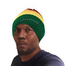 Rasta Twister Dreadlocks Tam Hat Beret Cap Reggae Marley Jamaica Rasta M/L