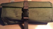 Ex MOD Tool Roll For Maintenance Kit Army Surplus Khaki With Carry Strap, Clean