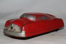 Auburn Rubber 1949 Futuristic Car, Red, Nice Original