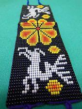 Huichol Vivid Colors Collectible Dear Peyote Baracelt