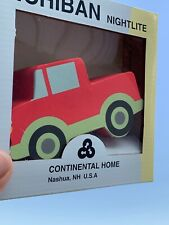 Brand New & Box Baby Nursery Red Flyer Truck Ford Nightlight Plug in Wall ��sj3j