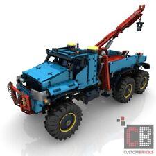 CB construiste receta RC 6x6 grúa + sbrick for lego ® Technic 42070