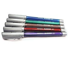 5x Nataraj SURFER Gel Pen BLUE smooth writing |0.7mm| school home office use