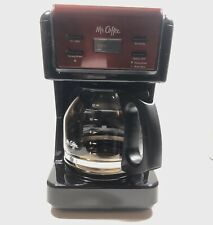 Mr. Coffee 12-Cup Resturant Style Programmable Coffee Maker Red BVMC-KNK