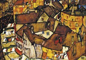 Egon Schiele - Huge A1 size Deco Canvas Wall Art Print Poster Unframed