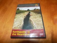 EARTHQUAKE IN THE HEARTLAND History Channel Mid-West Disaster New Madrid DVD NEW