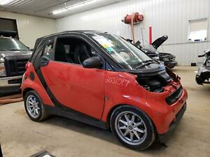 2008 SMART FORTWO PASSION CONVERTIBLE SKY ROOF SOFT TOP ASSEMBLY w/ MOTOR BLACK