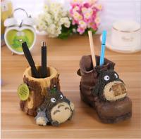 Kawaii Totoro Pen Holder Studio Ghibli Japan Anime Figure Plant Pot Bday Gift UK
