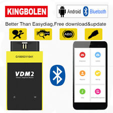 UCANDAS VDM2 OBD2 Bluetooth Full System Auto Diagnostic Scan Tool For Android