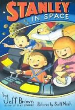 Flat Stanley: Stanley in Space by Jeff Brown (2003, Hardcover)