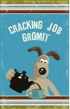 Wallace & Gromit - 3D Tin Kitchen Cafe Wall Sign - Cracking Job Grommit