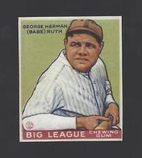 Babe Ruth  - Rookie Card Design Fridge Magnet - 1933 Goudey