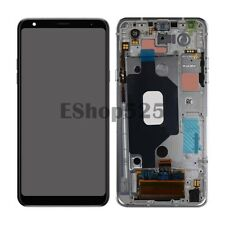 For LG Stylo 5 Q720 LCD Display Touch Screen Digitizer Assembly Frame Silver