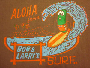 NEW Veggie Tales Larry Surfing & Preowned Spider-Man Shirts Youth Size Medium ❤️