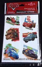 Disney Pixar Cars by Hallmark Temporary Tattoos- 2 Sheets 4 Party Favors