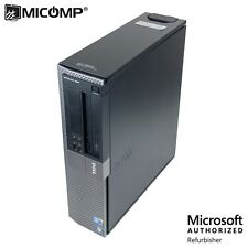 Fast Dell Optiplex Desktop Computer PC Dual Core i5 3.2Ghz 4GB Windows 10 WiFi