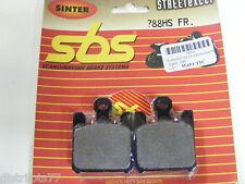 Plaquettes  Frein avant  SBS 788 HS  ZX-6R / 636  03-06  ZX-10R 04-07  ZX-12R
