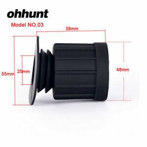 Ohhunt Hunting Scope Rubber Eyeshade Eye Protector Len Cover Sight Eyeguard