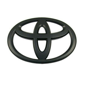 For 2016-2018 Toyota Tacoma Sequoia Tundra Front Grille Emblem Badge Matte Black