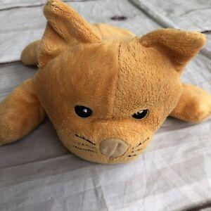 """Melissa & Doug Orange Cat Kitten Kitty Stuffed Animal Plush 9"""""""