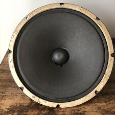"Heppner 12"" Speaker Alnico Vintage 16 Ohm Tested Smooth Cone"