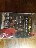 Lord of the Rings Battle Magazine #30 & BERSERKER Deagostini Warhammer - Sealed