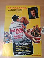 Kinoplakat + 18 AHF : Bel Ami 2000 ( Peter Alexander ) - Zustand 0