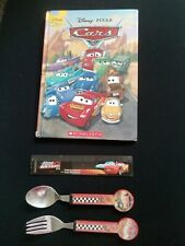 Disney Pixar Cars Starter Fork & Spoon+ Book+Ruler