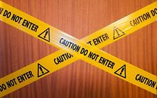 Prank barrier tape  x 5m - CAUTION DO NOT ENTER