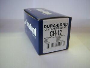 Dura-Bond CH-12 BBC Cam Camshaft Bearings Chevrolet Chevy ch12 366 396 427 454
