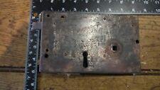 L17 Reclaimed Old Victorian Rim Lock / Door Latch