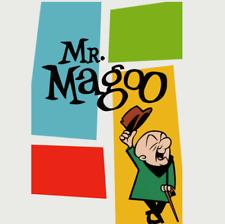 16mm Film 3 'Mr.Magoo' CARTOON LOT Sound & 1 Color - 2 B&W