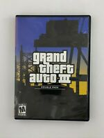 Grand Theft Auto III - Playstation 2 PS2 Game - Complete w/ Map & Tested