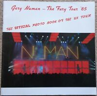 Gary Numan - The Fury Tour '85 official photo book of the UK tour