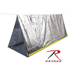 Easy Pack 3878 Bug Out 2 Person Lightweight Emergency Survival Tent 8' X 5'