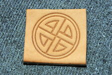 CELTIC KNOT Leather Embossing / Clicker Stamp, Delrin / Acetal, NEW #101