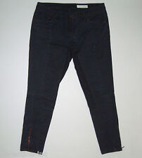 """SASS&BIDE CROPPED SKINNY JEANS 30 """"THE CONQUERED - NEON NIGHTS"""" Papa Sucre"""