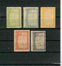 B2222 - VENEZUELA CLASSICI 1896 - SERIE 54/58 CPL**