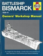 Haynes Manual: Schlachtschiff Bismarck Schiff-Modellbau/Handbuch/Photos/Skizzen