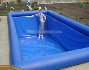 DIY Inflatable Heavy Duty TPU & PVC Inground Koi Pond Swimming Pool Liner NEW