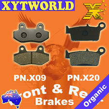 Front Rear Brake Pads for HYOSUNG RX 400 2005