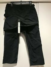 Thamanyah Black Three Quarter Length Cropped Trouser, Men's IT 46, (US 30), NWT
