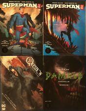 4 Lot DC Black Label Oversized Comic Books Superman, Batman, The Question #1